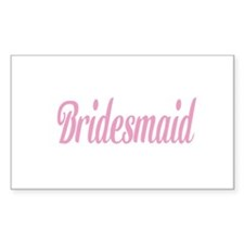 Bridesmaid Gifts/Wedding Decal