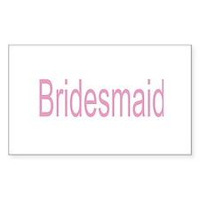 Bridesmaid Gifts/Wedding Decal