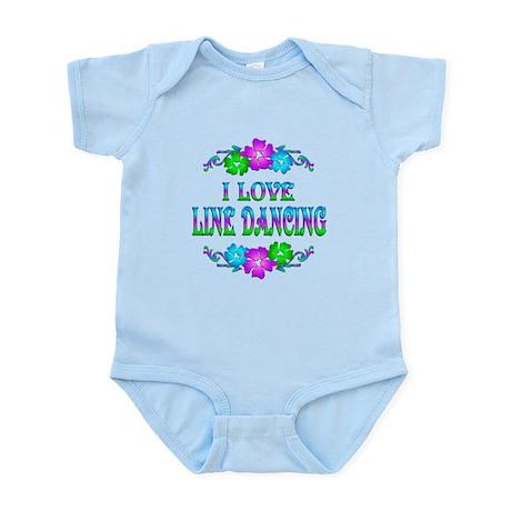 Line Dancing Love Infant Bodysuit