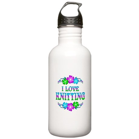 Knitting Love Stainless Water Bottle 1.0L