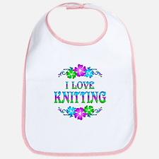 Knitting Love Bib