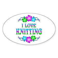 Knitting Love Decal
