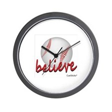 Believe (baseball) Wall Clock