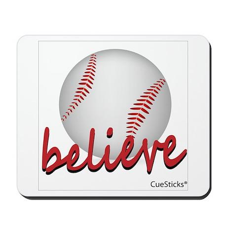 Believe (baseball) Mousepad