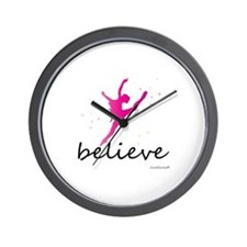 Believe (ballet) Wall Clock