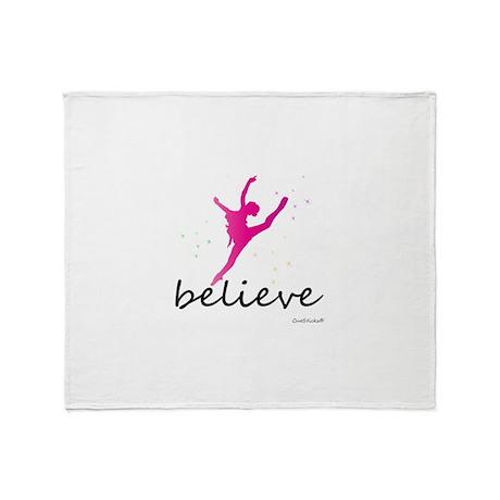 Believe (ballet) Throw Blanket