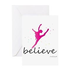 Believe (ballet) Greeting Card