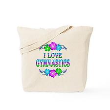 Gymnastics Love Tote Bag