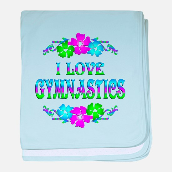 Gymnastics Love baby blanket