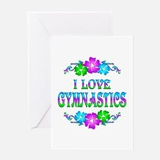 Gymnastics Love Greeting Card