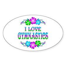 Gymnastics Love Decal