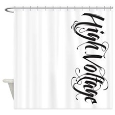 High Voltage Shower Curtain