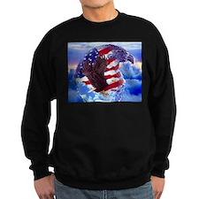 Cute Bald eagle usa Sweatshirt