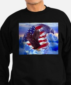 Cute Bald eagle american Sweatshirt