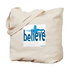Believe Swim Tote Bag