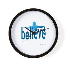 Believe Swim Wall Clock