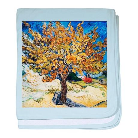 Van Gogh Mulberry Tree baby blanket