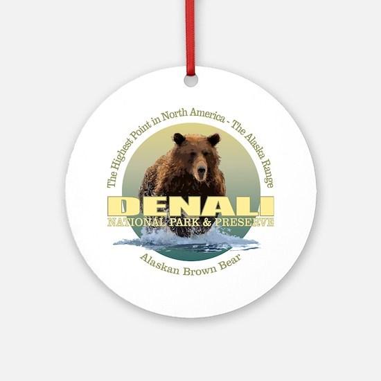 Denali (Bear) WT Round Ornament