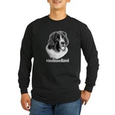 Newflandseercharcoalblack Long Sleeve T-Shirt
