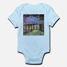 Van Gogh Starry Night Over The Rhone Infant Bodysu