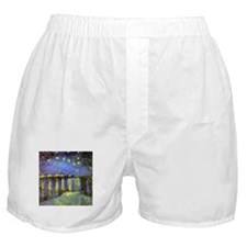 Van Gogh Starry Night Over The Rhone Boxer Shorts