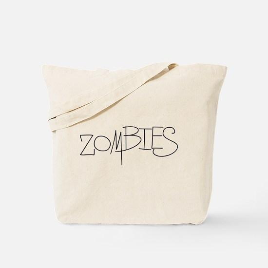 Zombies! Tote Bag