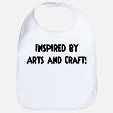 Inspired by Arts and Crafts Bib