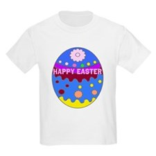 Happy Easter Duck on An Easter Egg T-Shirt