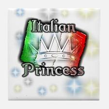 Italian Princess Tile Coaster