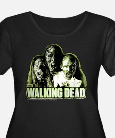 The Walking Dead Zombies Women's Plus Size Tee