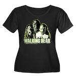 The Walking Dead Zombies Women's Plus Size Tee
