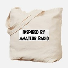 Inspired by Amateur Radio Tote Bag