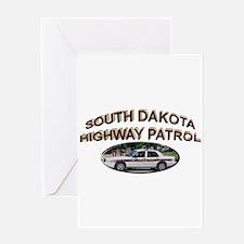 South Dakota Highway Patrol Greeting Card