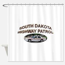 South Dakota Highway Patrol Shower Curtain