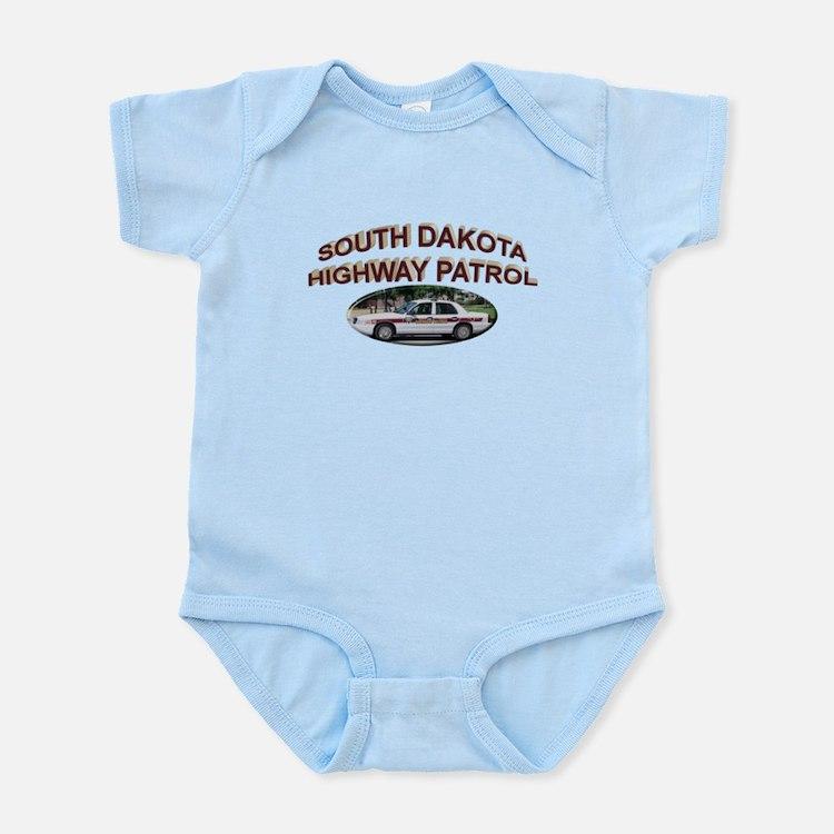 South Dakota Highway Patrol Infant Bodysuit