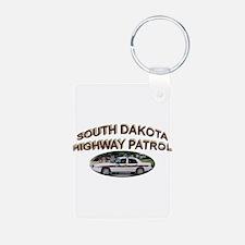 South Dakota Highway Patrol Keychains