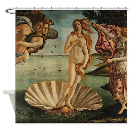 Botticelli The Birth Of Venus Shower Curtain