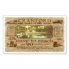 Cranford - Venice of NJ/Orchard Park (1922) Sticke