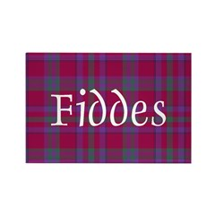 Tartan - Fiddes Rectangle Magnet