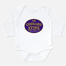 Wsu Long Sleeve Infant Bodysuit