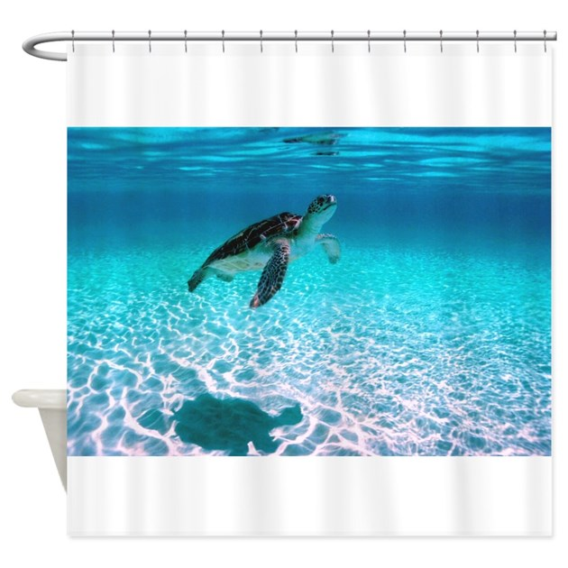 Shower Curtain By Turtles1