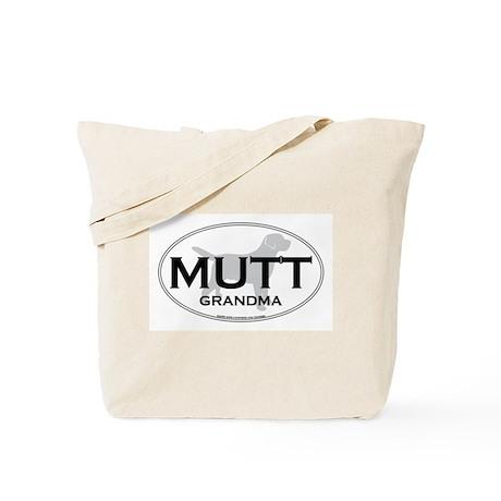 MUTT GRANDMA Tote Bag