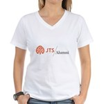 JTS Alumni Women's V-Neck T-Shirt