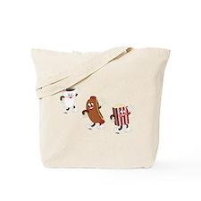 Soda Hotdog Popcorn Tote Bag