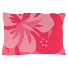 Hibiscus Pink Pillow Case