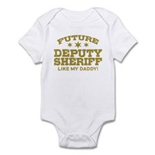 Future Deputy Sheriff Infant Bodysuit