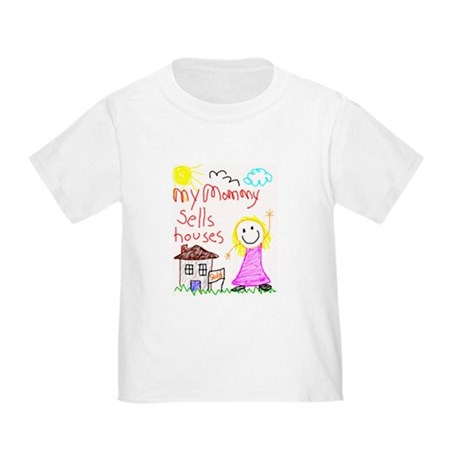 Real Estate Mommy Toddler T-Shirt