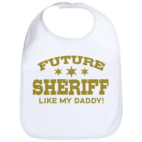 Future Sheriff Bib