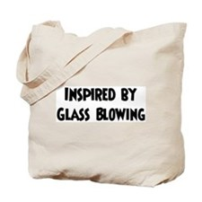 Inspired by Glass Blowing Tote Bag