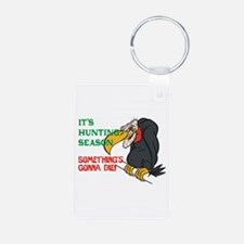 Something's Gonna Die Aluminum Photo Keychain